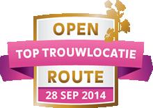 Open Toptrouwlocatie Route – zondag 28 september 2014