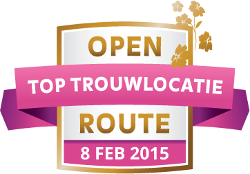 Open Toptrouwlocatie Route – zondag 8 februari 2015